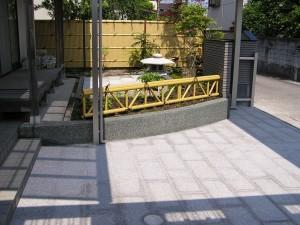 和風のこだわり塀と庭 富山市3