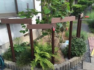 ガーデンフェンス 板塀