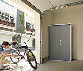 ドア型収納庫 アイビーストッカー サビに強い物置1