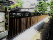 和風のお庭に合う大和塀フェンス 富山市