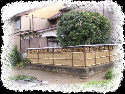 デザイン竹垣工事 富山市2