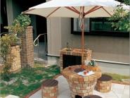 グリルテーブルユニット ガーデンリビング ニッコー