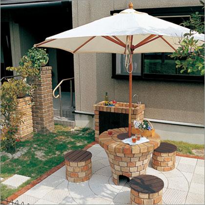 グリルテーブルユニット ガーデンリビング ニッコー1