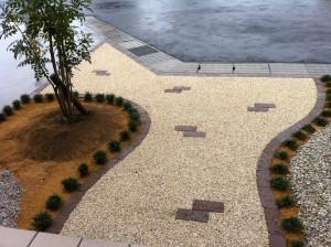 駐車場とアプローチの楽しい関係 滑川市8