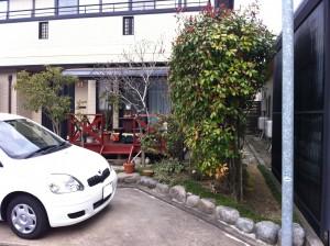 車をもう一台増やす駐車スペース拡張工事 富山市3