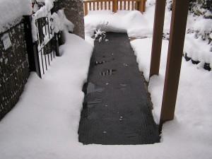 融雪マットの4mの写真がありました