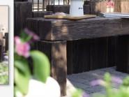 ガーデンベンチ リアルウッドランバー 日本興業