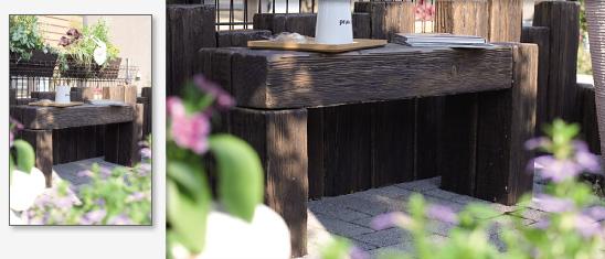 ガーデンベンチ リアルウッドランバー 日本興業  1