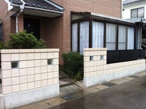 ブロック工事 富山市4