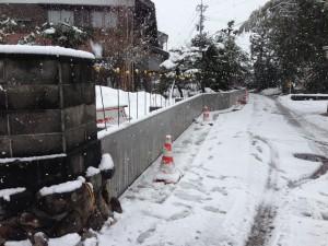 基礎コンクリート ブロック積み