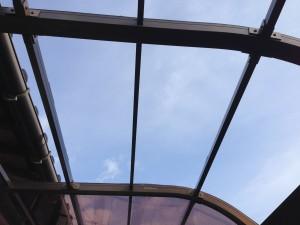 雪対策に屋根補強