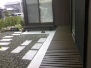 縁台の似合う庭に 富山市