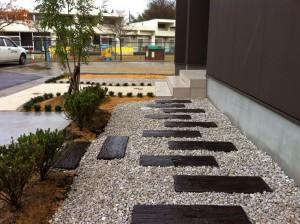 駐車場とアプローチの楽しい関係 滑川市6