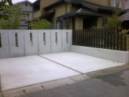 駐車場拡張工事 富山市