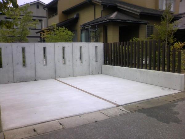 駐車場拡張工事 富山市1