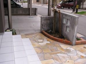 駐車場インターロッキング工事 富山市3
