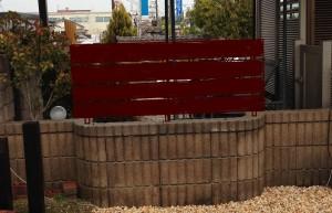 板塀フェンスのイメージ
