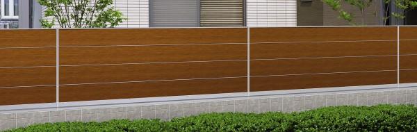 マイリッシュA7型 目隠しフェンス 板塀風1