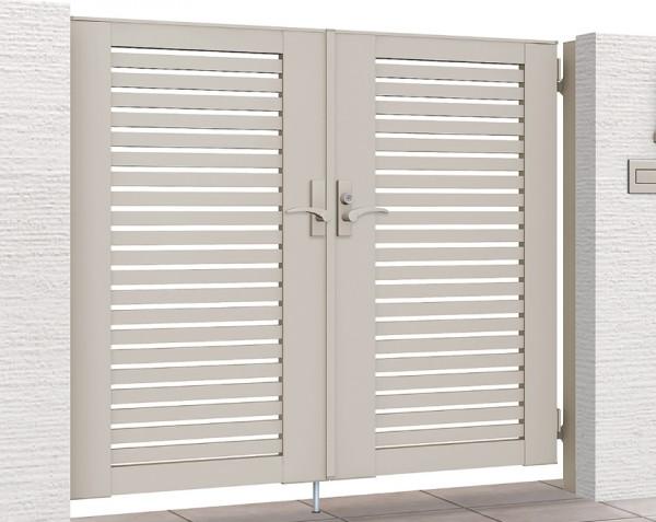 ライシス門扉3型(太めの横桟) LIXIL1
