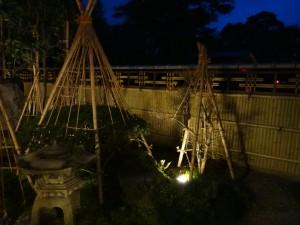 エバー15型のデザイン竹垣 エクステリア 富山5