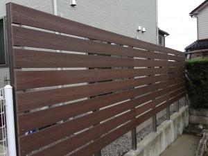 樹脂フェンス 軽量樹脂板