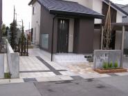 駐車場インターロッキング工事 富山市