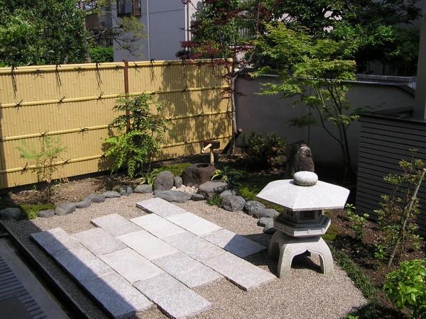 和風のこだわり塀と庭 富山市1