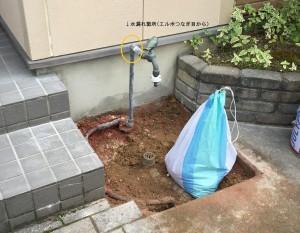 水栓取り換え