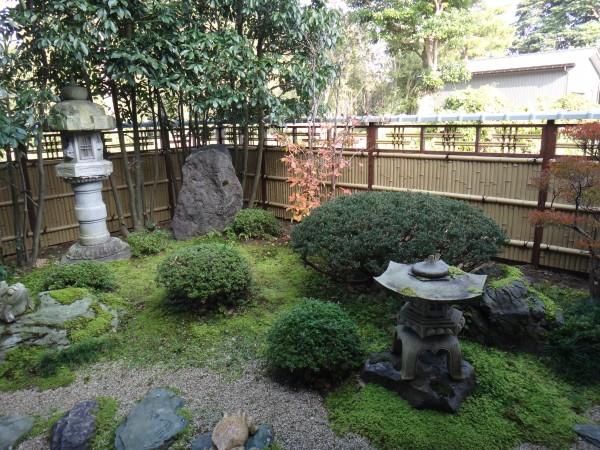 エバー15型のデザイン竹垣 エクステリア 富山1