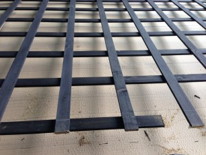 井桁のパネル加工