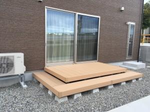 リウッドデッキ1.5間×5尺+段床タイプ