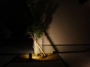 シルエットを利用した灯り 高岡市T宅2