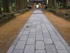 石貼り工事 縁石工事 富山3