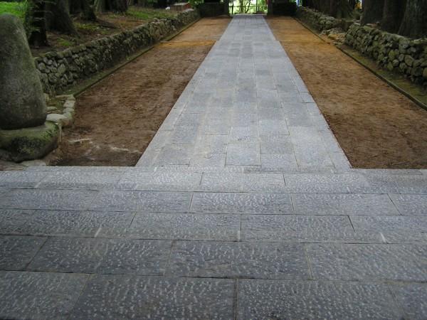 石貼り工事 縁石工事 富山4