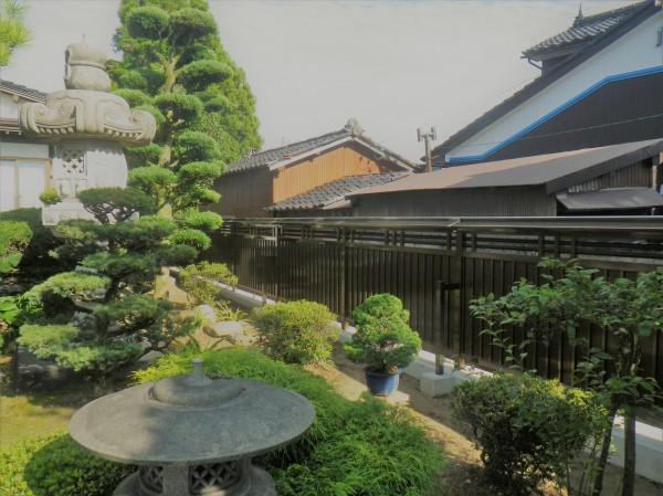 和風のお庭に合う大和塀フェンス 富山市4