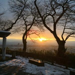 呉羽山からの眺望