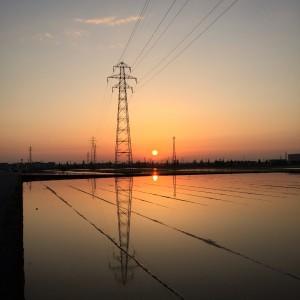 sunset toyama