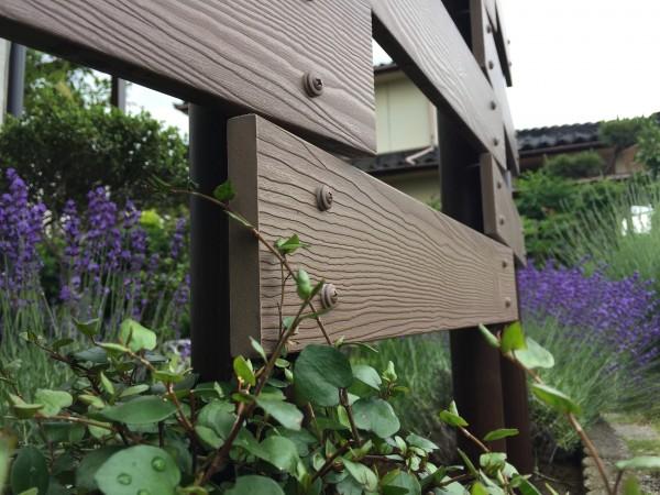 板塀のフェンス 軽量樹脂フェンス 高儀2