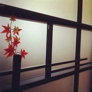 京町屋風のアルミ格子