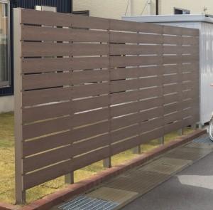 板塀のフェンス 軽量樹脂フェンス 高儀3