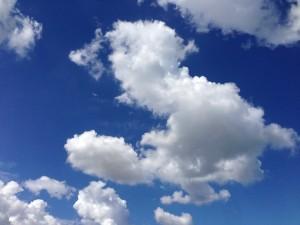ウィッチっぽい雲と富山の空