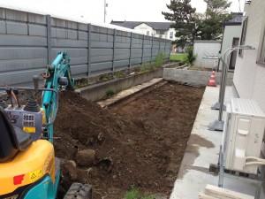 外構工事 掘削 とやま