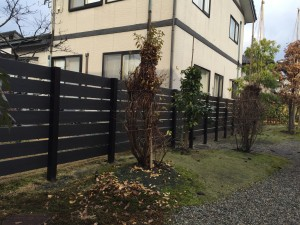 板塀のフェンス 軽量樹脂フェンス 高儀4
