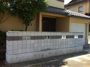 基礎・ブロック積み工事 富山市3