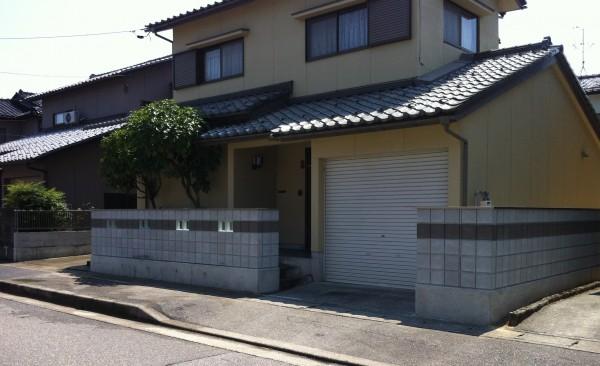 基礎・ブロック積み工事 富山市1