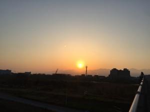 2016年4月 sunrise