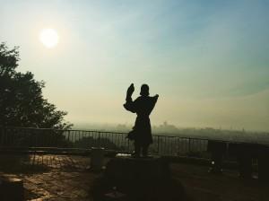 呉羽山展望台より