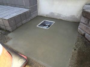 散水栓に変更