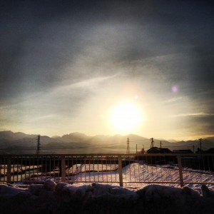水橋のsunrise