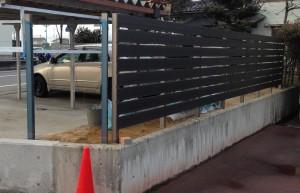 樹脂板フェンス